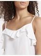 LC Waikiki Bluz Beyaz